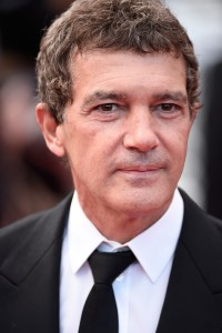 Antonio Banderas attends the French film premiere of Sicario during 68th Annual Cannes Film Festival on May 19, 2015.