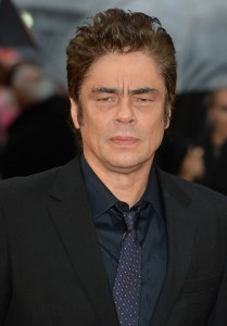 Benicio del Toro attends the U.K. film premiere of Sicario held at Empire Cinema, Leicester Square, London on September 21, 2015.