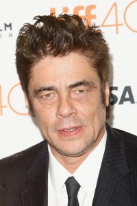 Benicio del Toro attends the Canadian film premiere of Sicario during 2015 Toronto International Film Festival on September 11, 2015.