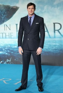 Benjamin Walker attends the European premiere of In the Heart of the Sea held at Empire Cinema, Leicester Square, London on December 2, 2015.