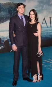 Benjamin Walker and girlfriend Kaya Scodelario attend the European premiere of In the Heart of the Sea held at Empire Cinema, Leicester Square, London on December 2, 2015.