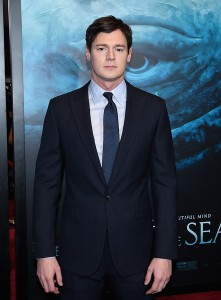 Benjamin Walker attends the New York film premiere of In the Heart of the Sea on December 7, 2015.