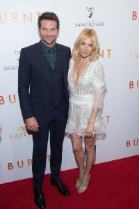 Bradley Cooper and Sienna Miller attends the New York film premiere of Burnt held at the Musuem of Modern Art, NYC on October 20, 2015.
