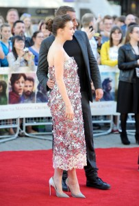 Carey Mulligan and Matthias Schoenaerts attend the U.K. film premiere of Far from the Madding Crowd held at Odeon, Kensington, London on April 15, 2015.
