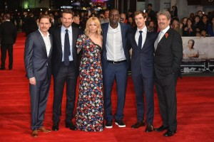 Cast and director of Burnt attend the London premiere held at Vue West End, Leicester Square on October 28, 2015.