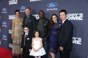 Cast of Daddy's Home attend the New York premiere of Daddy's Home on December 13, 2015.
