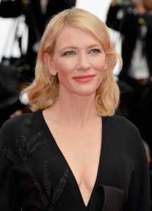 Cate Blanchett attends the French film premiere of Sicario during 68th Annual Cannes Film Festival on May 19, 2015.