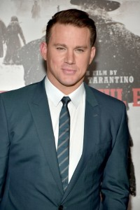 Channing Tatum attends the Los Angeles film premiere of The Hateful Eight held at ArcLight Cinemas, Sunset Blvd on December 7, 2015.