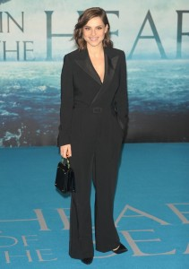 Charlotte Riley attends the European premiere of In the Heart of the Sea held at Empire Cinema, Leicester Square, London on December 2, 2015.