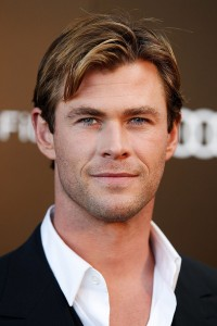 Chris Hemsworth at the Australian film premiere of In the Heart of the Sea held at Moore Park, Sydney on November 17, 2015.