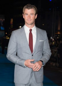 Chris Hemsworth attends the European premiere of In the Heart of the Sea held at Empire Cinema, Leicester Square, London on December 2, 2015.