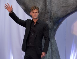 Chris Hemsworth at the Mexico premiere of In the Heart of the Sea held at BestDay Cinema, Antara on November 23, 2015.