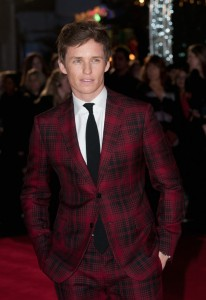 Eddie Redmayne attends the U.K. film premiere of The Danish Girl held at Odoen cinema, Leicester Square, London on December 8, 2015.