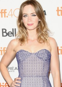 Emily Blunt attends the Canadian film premiere of Sicario during 2015 Toronto International Film Festival on September 11, 2015.