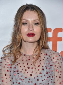 Emily Browning attends the Canadian film premiere of Legend during 2015 Toronto International Film Festival on September 12, 2015.
