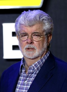 George Lucas attends the UK film premiere of Star Wars: The Force Awakens held at Odeon and Empire Cinemas, Leicester Square London. (December 14, 2015)
