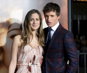 Hannah Bagshawe and Eddie Redmayne attend the Los Angeles film premiere of The Danish Girl held at Westwood Village Theatre, Broxton Ave, CA on November 21, 2015.