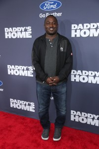 Hannibal Buress attends the New York premiere of Daddy's Home on December 13, 2015.