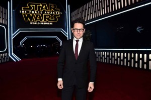 J.J. Abrams attends the World Premiere of Star Wars: The Force Awakens held at TCL Chinese Theatre, Hollywood Blvd, Los Angeles, CA on December 14, 2015.