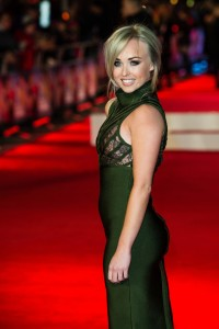 Hollyoaks star, Jorgie Porter attends the U.K. film premiere of Daddy's Home held at Vue West End, Leicester Square, London on December 9, 2015.