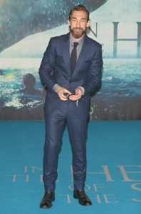 Joseph Mawle attends the European premiere of In the Heart of the Sea held at Empire Cinema, Leicester Square, London on December 2, 2015.