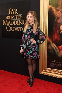 Juno Temple at the New York premiere of Far from the Madding Crowd on April 27, 2015.