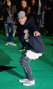 Justin Bieber attends the world premiere of Ed Sheeran's Jumpers for Goalposts concert movie which was filmed live at wembley stadium. The premiere took place at Odeon cinema, Leicester Square on October 22, 2015.