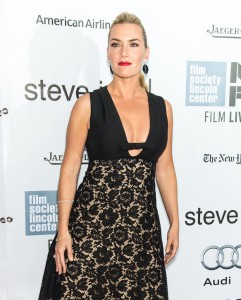 Kate Winslet attends the New York film premiere of Steve Jobs held at the Lincoln Center, NYC on October 3, 2015.