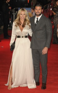 TOWIE's Kate Wright and Dan Edgar attend the U.K. film premiere of Daddy's Home held at Vue West End, Leicester Square, London on December 9, 2015.