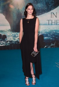 Actress Kaya Scodelario attends the European premiere of In the Heart of the Sea held at Empire Cinema, Leicester Square, London on December 2, 2015.