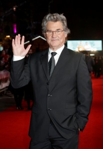Kurt Russell attends The Hateful Eight European premiere held at Odeon cinema, Leicester Square, London on December 10, 2015.