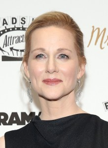 Laura Linney attends the New York film premiere of Mr. Holmes held at the Museum of Modern Art, NYC on July 13, 2015.