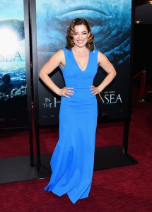 Laura Michelle Kelly attends the New York film premiere of In the Heart of the Sea on December 7, 2015.