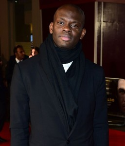 Louis Saha attends the world film premiere of Ronaldo held at Vue West End, Leicester Square, London on November 9, 2015.