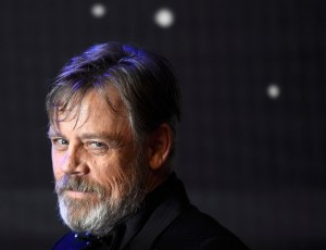 Mark Hamill attends the UK film premiere of Star Wars: The Force Awakens held at Odeon and Empire Cinemas, Leicester Square London. (December 14, 2015)