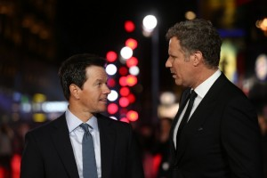 Mark Wahlberg and Will Ferrell attend the U.K. film premiere of Daddy's Home held at Vue West End, Leicester Square, London on December 9, 2015.