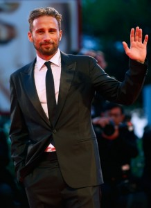 Matthias Schoenaerts attends The Danish Girl film premiere during 72nd Venice International Film Festival on September 4, 2015.