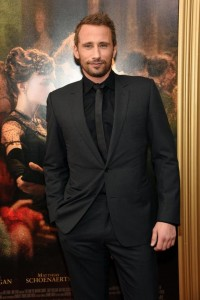 Matthias Schoenaerts at the New York premiere of Far from the Madding Crowd on April 27, 2015.