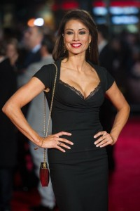 Melanie Sykes attends the world film premiere of Ronaldo held at Vue West End, Leicester Square, London on November 9, 2015.