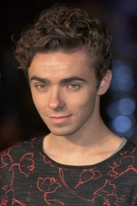 Nathan Sykes attends the world premiere of Ed Sheeran's Jumpers for Goalposts concert movie which was filmed live at wembley stadium. The premiere took place at Odeon cinema, Leicester Square on October 22, 2015.