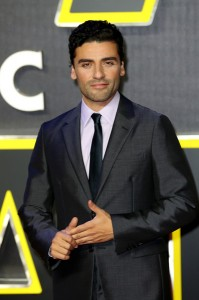 Oscar Isaac attends the UK film premiere of Star Wars: The Force Awakens held at Odeon and Empire Cinemas, Leicester Square London. (December 14, 2015)