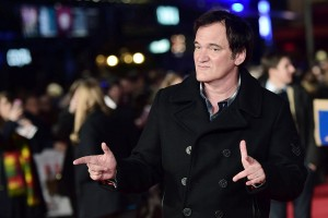 Quentin Tarantino attends The Hateful Eight European premiere held at Odeon cinema, Leicester Square, London on December 10, 2015.