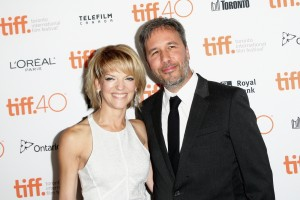 Tanya Lapointe and Director Denis Villeneuve attend the Canadian film premiere of Sicario during 2015 Toronto International Film Festival on September 11, 2015.