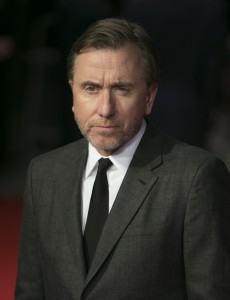 Tim Roth attends The Hateful Eight European premiere held at Odeon cinema, Leicester Square, London on December 10, 2015.