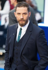 Tom Hardy attends the U.K. film premiere of Legend held at Odeon cinema, Leicester Square, London on September 3, 2015.