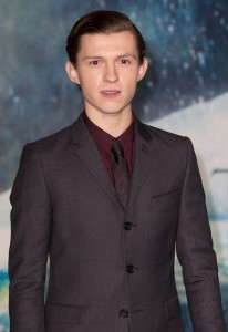 Tom Holland attends the European premiere of In the Heart of the Sea held at Empire Cinema, Leicester Square, London on December 2, 2015.