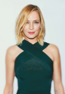 Uma Thurman attends the New York film premiere of Burnt held at the Musuem of Modern Art, NYC on October 20, 2015.