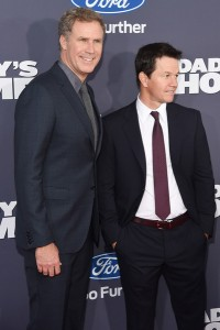 Will Ferrell and Mark Wahlberg attend the New York premiere of Daddy's Home on December 13, 2015.