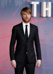 Domhnall Gleeson attends the UK premiere of The Revenant held at Empire Cinemas, Leicester Square, London on January 14, 2016.