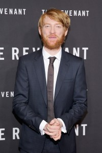 Domhnall Gleeson attends The Revenant Premiere in New York held at AMC Leows Lincoln Square on January 6, 2016.